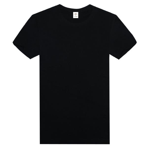 纯棉精梳文化衫  黑色